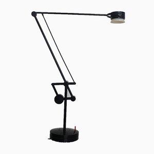 Lámpara de escritorio Valentina industrial vintage articulada de De Pas D'Urbino & Lomazzi para Valenti Luce, años 80