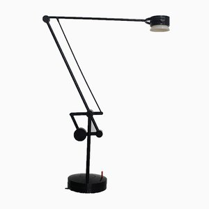 Vintage Industrial Valentina Articulated Desk Lamp by De Pas D'Urbino & Lomazzi for Valenti Luce, 1980s