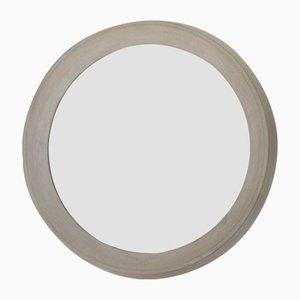 Specchio con cornice in cemento di Ulf Neumann per rohes wohnen