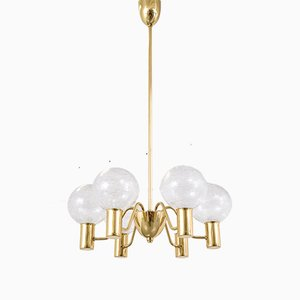 T 372/6 Patricia Chandelier by Hans-Agne Jakobsson, 1960s