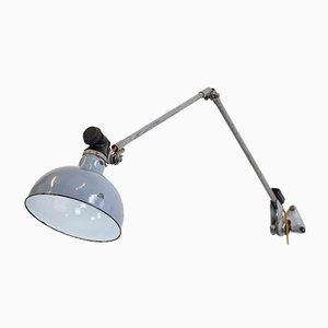 Large Industrial Wall-Mounted Lamp by Ernst Rademacher, 1930s