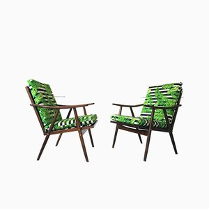Vintage Boomerang Armchairs from Thonet, Set of 2