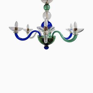Lámpara de araña de Murano de Sylcom, años 90