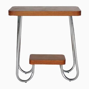 Bauhaus Style Side Table, 1950s