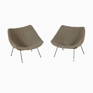 Oyster Armchairs by Pierre Paulin for Artifort, 1960s, Set of 2