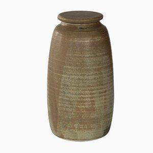 Brocca vintage in ceramica con coperchio di Anne-Grethe Kierstein