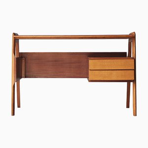 Italian Birch & Rosewood Desk, 1950s