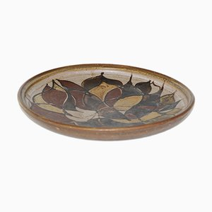 Piatto vintage in ceramica di Lise Jonas, Danimarca