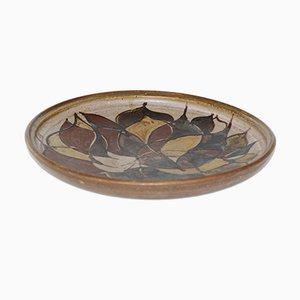 Plato danés vintage de cerámica de Lise Jonas