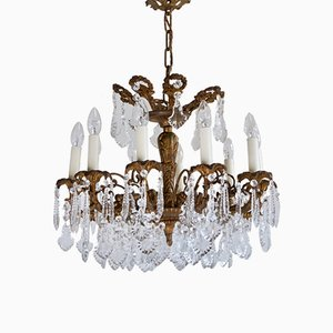 Gilt Bronze Chandelier, 1905