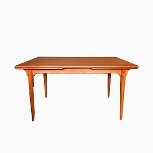 Scandinavian Teak Dining Table by Omann Jun, 1960s