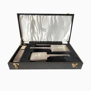 Set da toeletta vintage in argento Sterling di B. & Co., Regno Unito