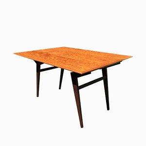 Table Basse ou Table de Salle à Manger Ajustable en Teck, 1960s
