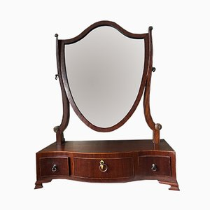Regency Serpentine Mirror & Drawers, 1820s