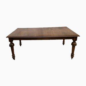 Mesa de comedor británica antigua