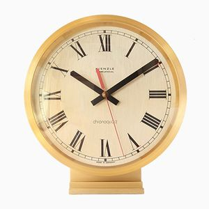 Grande Horloge de Table Bauhaus de Kienzle International, 1970s