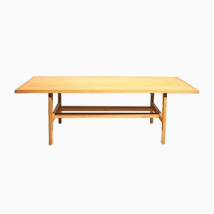 Oak Coffee Table by Poul Volther, 1960s