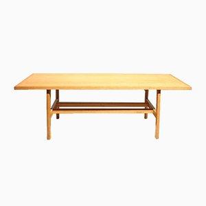 Table Basse en Chêne par Poul Volther, 1960s