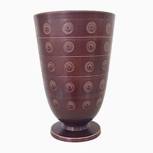 Große Solbjerg Vase von Nils Thorsson für Royal Copenhagen, 1930er