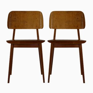 Model Irene 1948 Dining Chairs by Cees Braakman for Pastoe, 1954, Set of 2
