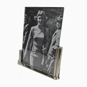 Art Deco Chromed Picture Frame