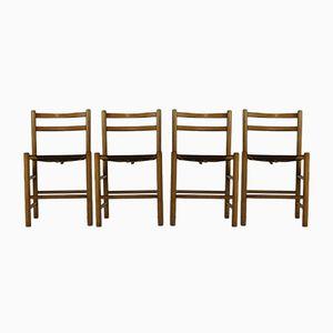 Esszimmerstühle von Ate van Apeldoorn für Houtwerk Hattem, 1970er, 4er Set