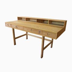 Schreibtisch aus Eiche von Jens Quistgaard für Peter Løvig, 1960er