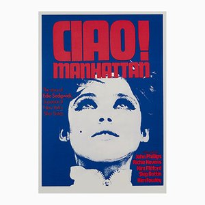 Ciao! Manhattan Film Poster, 1973