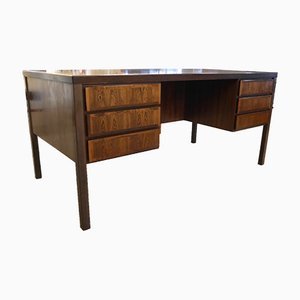 No. 77 Rosewood Desk by Gunni Oman for Omann Jun, 1970s