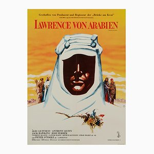 Poster del film Lawrence d'Arabia di Georges Kerfyser, 1963