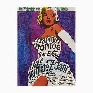 Das verflixte 7. Jahr Filmposter von Dorothea Fischer-Nosbisch, 1966