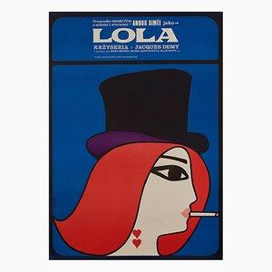 Lola Film Poster by Maciej Hibner, 1967