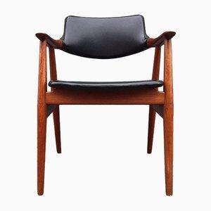 Modern Teak Armchair by Erik Kirkegaard for Høng Stolefabrik, 1960s