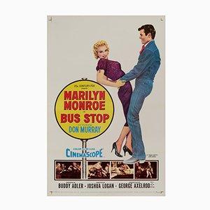 Bus Stop Film Poster, 1956