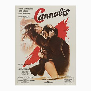 Cannabis Poster by Georges Allard, 1970