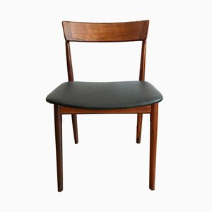 Sedia da pranzo in palissandro di Henry Rosengren Hansen per Brande Møbelindustri, anni '60