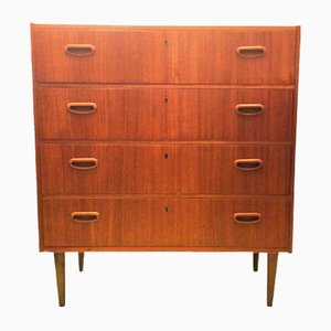 Mid-Century Swedish Teak Chest of Drawers, 1960s