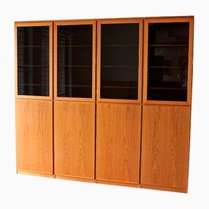 Vintage Scanflex Teak Storage from Omann Jun