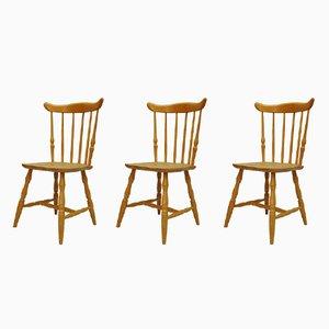 Dänische Vintage Stühle, 3er Set
