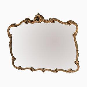 Rococo Gilded Acanthus Mirror from Atsonea, 1950s