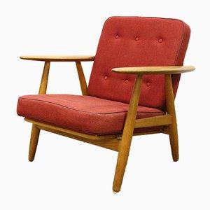 GE-240 Oak Chair by Hans J. Wegner for Getama, 1950s