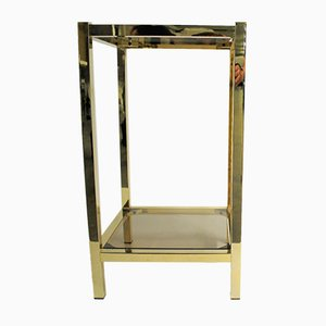 Vintage Brass Display Table, 1970s