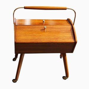 Vintage Danish Sewing Cart