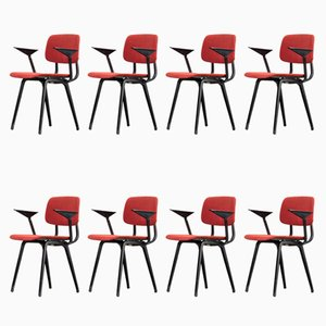 Revolt Chairs by Friso Kramer for Ahrend, 1958, Set of 8