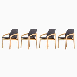Armchairs by Kai Kristiansen for Korup Stolefabrik, 1960s, Set of 4