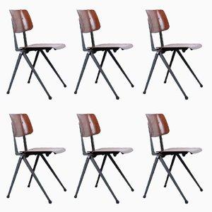 Vintage S 17 Compass Chairs von Galvanitas, 6er Set