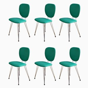 Vintage Chairs, 1950s, Set of 6