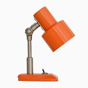 Italienische Tischlampe in Orange von Stilnovo, 1950er