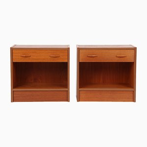 Danish Nightstands, 1970s, Set of 2