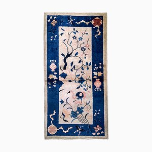 Chinese Handmade Rug, 1900s
